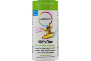 Rainbow Light Kid's One Food-Based Multivitamin Chewable Tablets Dietary Supplement - 30 CT