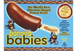 Diana's Bananas Milk Chocolate Banana Babies - 5 CT