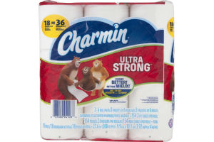 Charmin Bathroom Tissue Ultra Strong - 3 PK