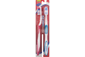 CareOne Control Grip Toothbrushes Medium - 2 CT