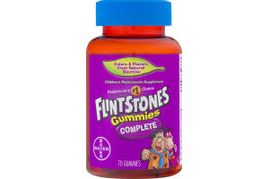 Flintstone's Complete Vitamins Gummies - 70 CT