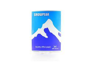 Папір А4 500ар.білий Snowpeak 96% клас С 82338