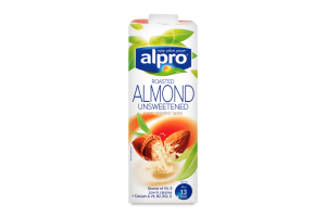 Напій мигдальний Alpro б/цукру т/п 1л Бельгія х8