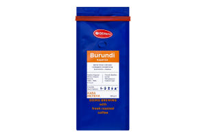 Кофе натуральный жареный молотый Burundi Kayanza Gemini м/у 250г