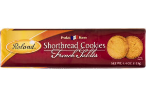 Roland Shortbread Cookies French Sables