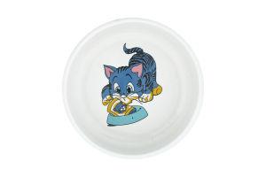 Миска для котов Trixie керамическая 0,3л*11см