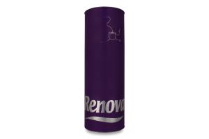 Бумага туалетная Renova фиолетовая тубус
