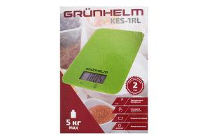 Весы кухонные прямоугольные 215х140х15см KES-1RL Grunhelm 1шт