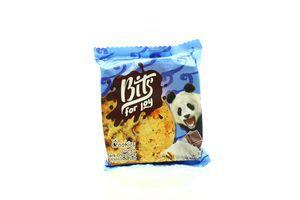 Печиво Bits for joy з темн.шокол.,вол.горіхом і сіллю50г х36