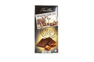 Шоколад Foullon Madagascar чорний 100г