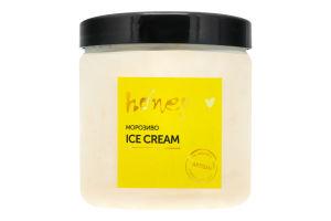 Морозиво Диня-ананас Веган Honey п/б 300г