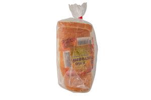 Хлеб половинка в нарезке Тостовый Днепровский ХК №11 м/у 300г