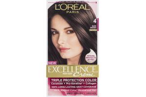 L'Oreal Paris Excellence Creme Triple Protection Color 4 Dark Brown Natural