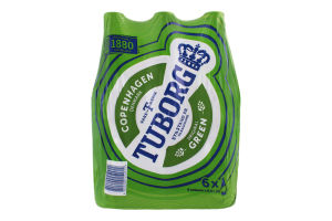 Пиво 6х0.5л 4.6% Original Green Tuborg бут