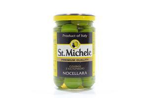 Оливки с косточкой Nocellara St. Michele c/б 295г