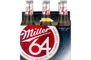 Miller 64 Light Beer - 6 PK