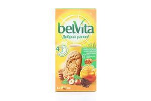 Печенье Доброе утро! Мед орех шоколад Belvita 300 г к/у