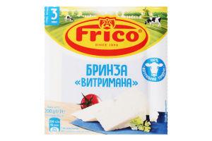 Сыр 48% рассольный Брынза Выдержанная Frico лоток 200г