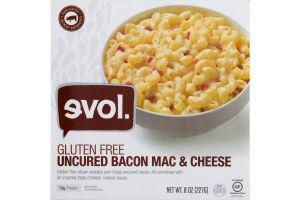 evol. Gluten Free Uncured Bacon Mac & Cheese