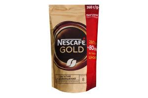 Кава натуральна розчинна сублімована Gold Nescafe д/п 360г