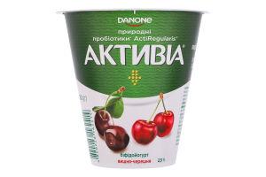 Бифидойогурт 2.5% Вишня-черешня Активіа ст 260г