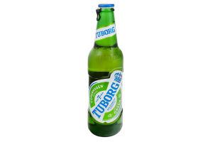 Пиво 0.33л 4.6% светлое Tuborg Green бут