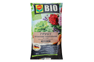 Грунт універсальний органічний Bio Compo 15л