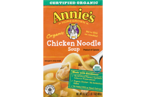 Annie's Homegrown Organic Chicken Noodle Soup