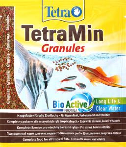 Корм для рыб Tetra Min основной гранулированный
