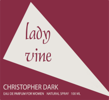 Парфумована вода жіноча Lady Vine Christopher Dark 100мл
