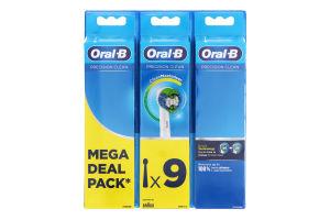 Насадки змінні для електричної зубної щітки Precision Clean CleanMaximiser Oral-B 9шт