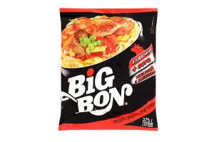 Лапша быстрого приготовления Говядина + соус томатный с базиликом BigBon м/у 75г