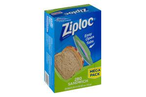 Ziploc Sandwich Bags 280 Ct