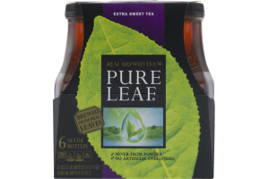Pure Leaf Real Brewed Tea Extra Sweet Tea - 6 PK