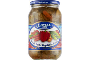 Lowell Foods Greek Style Vegetable Salad