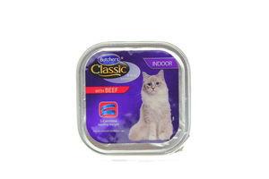 Корм Butcher's Classic для котів паштет яловичина 100г