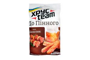 Сухарики хрустящие со вкусом шашлыка Хрусteam м/у 70г