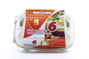Яйцо куриное столовое С1 Наша Марка 6шт