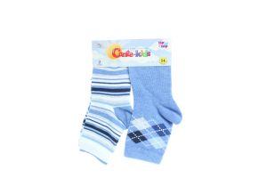 CONTE-KIDS TIP-TOP Шкарпетки дитячі (2 пари) р.14 700 блакитний
