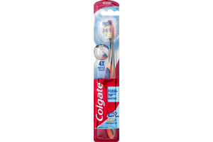 Colgate Floss Tip Deep Reach Toothbrush