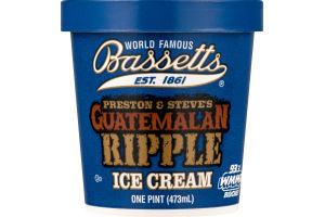Bassetts Ice Cream Preston & Steve's Guatemalan Ripple