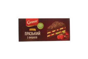 Торт Сладков празький з вишнею 500кг