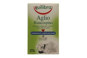 Добавка диет Equilibra Aglio Biancospino Чесн/бояр