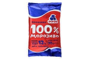 Мороженое 100% вафельный стакан Рудь 65г