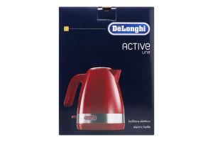 Електрочайник №KBLA2000R Active Line DeLonghi 1шт