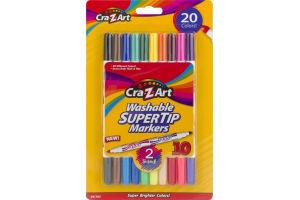 Cra-Z-Art Washable Super Tip Markers - 10 CT