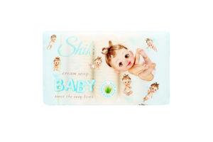 Крем-мило для дітей від народження туалетне з екстрактом алое Baby Shik 5х70г
