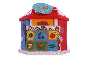 Игрушка для детей от 1года №6196 Логический дом Polesie 1шт