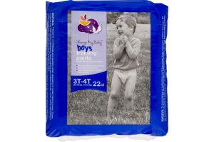 Always My Baby Boys Training Pants 3T-4T - 22 CT