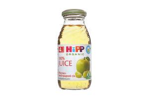 Сок для детей от 4мес яблочно-виноградный Hipp с/бут 0.2л